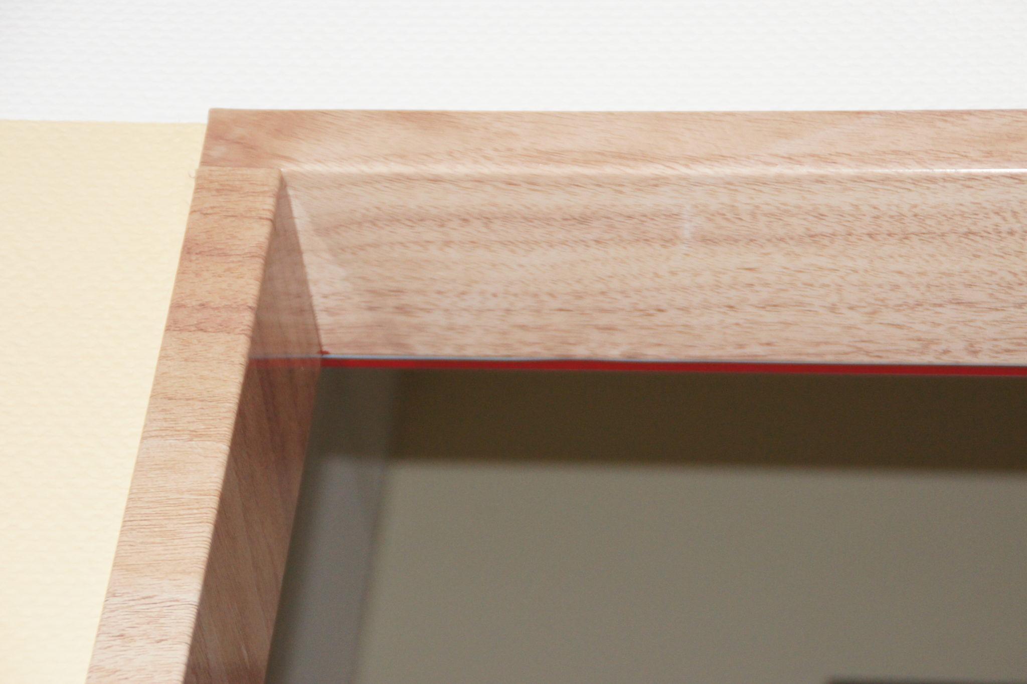 Türrahmenverkleidungen in Holz Textura.