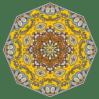 Klebe-Teppich Rund